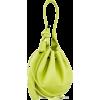 INA BAG NAPPA LIME GREEN - Hand bag -