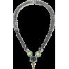 IOSSELLIANI 10-karat gold-plated, stone - ネックレス -