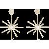 IRIS & INK Shelba 18-karat gold-plated f - Earrings -