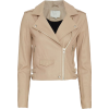 IRO Ashville Biker Leather Jac - Jacket - coats -