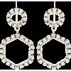 ISABEL MARANT Crystal-embellished earrin - Earrings -