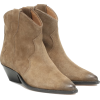 ISABEL MARANT Dewina suede ankle boots - Čizme -