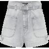ISABEL MARANT Kike denim shorts - Hose - kurz -