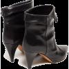ISABEL MARANT Larel leather ankle boots - Čizme -