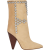 ISABEL MARANT Layo Studded Suede Ankle B - Stiefel -