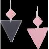 ISABEL MARANT New Asphalt Mismatched Two - Earrings -