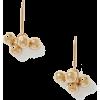 ISABEL MARANT Oh gold-tone earrings - Earrings -