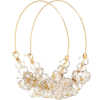 ISABEL MARANT Polly embellished hoop ear - イヤリング -