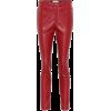ISABEL MARANT, ÉTOILE Zeffery faux leath - Capri & Cropped - $275.00