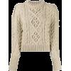 ISABEL MARANT ÉTOILE neutral cable knit - Puloveri -