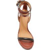 ISABEL MARANT brown leather sandal - Sandały -