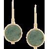 ISABEL MARANT geometric stone earrings - Earrings -