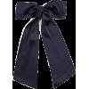 ISABEL MARANT navy bow - Uncategorized -