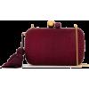 ISLA Isla Raffia Clutch - Red - Clutch bags -