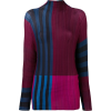 ISSEY MIYAKE colour block top - Tuniche -