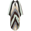 ISSONI Striped oversized wool-blend cape - Jacket - coats -