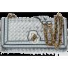 Intreciatto Checker Olympia Knot Bag - Hand bag -