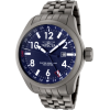 Invicta Men's 0191 Force Collection Blue Dial Matte Grey Stainless Steel Watch - Watches - $299.00