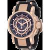 Invicta Men's 0900 S1 Chronograph Black Dial Black Polyurethane Watch - Watches - $192.99