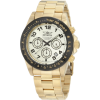 Invicta Men's 10703 Speedway Chronograph Gold Dial 18k Gold Ion-Plated Stainless Steel Watch - Watches - $89.89