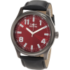 Invicta Men's 11433 Specialty Red Dial Black Leather Watch - Watches - $83.64