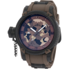 Invicta Men's 1198 Russian Diver Brown Camouflage Dial Polyurethane Watch - Watches - $199.00