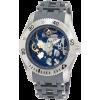 Invicta Men's 1256 Sea Spider Mechanical Skeleton Dial Grey Polyurethane Watch - Watches - $169.99