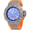 Invicta Men's 1591 Subaqua Noma III Blue Dial Orange Polyurethane Watch - Satovi - $179.99  ~ 154.59€