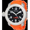 Invicta Men's 1690 Pro Diver Sea Hunter Black Dial Orange Rubber Watch - Watches - $95.00