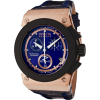 Invicta Men's 5551 Akula Collection Black Ion-Plated and Rose Gold-Tone Chronograph Watch - Watches - $249.99