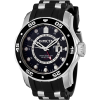 Invicta Men's 6987 Pro Diver Collection GMT Black Dial Black Polyurethane Watch - Watches - $149.00