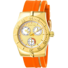 Invicta Women's 5926 Lady Wildflower Collection Gold-Tone Stainless Steel Orange Watch - ウォッチ - $89.99  ~ ¥10,128