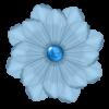 Irresistible Scrapbook Bead Gem Flower - Rastline -