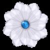 Irresistible Scrapbook Bead Gem Flower - Plants -