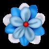 Irresistible Scrapbook Colorful Flower - Rastline -