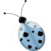 Irresistible Scrapbook Ladybug - Zwierzęta -