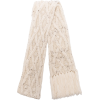Isabel Marant Florens cable-knit scarf - Cachecol -
