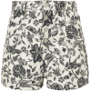 Isabel Marat foral demin shorts - Hose - kurz -