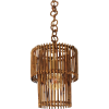 Italian Modern Rattan lighting 1960s - Lights -
