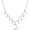 Italian sterling silver necklace - Collane -