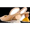 JACQUEMUS geometric carved heel slingbac - Scarpe classiche - $519.00  ~ 445.76€