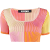 JACQUEMUS La Maille Yauco knitted top - Shirts -
