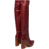 JACQUEMUS Sabots leather over-the-knee b - Boots -