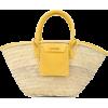 JACQUEMUS Soleil basket tote - Hand bag -