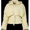JACQUEMUS neutral hooded jacket - Jacket - coats -