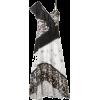 JASON WU grey chiffon floral print dress - Vestidos -