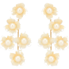 JENNIFER BEHR Petra floral earrings - Aretes -