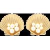JENNIFER BEHR Sirena clip-on earrings - Earrings -