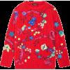 JERSEY DE LANA BAROCCO GARDEN BORDADO - Pullovers - 1,980.00€  ~ $2,305.31