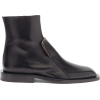 JIL SANDER Front-panel leather Chelsea b - Boots -